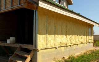 Этапы утепления деревянного дома своими руками