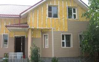 Технология по утеплению деревянного дома