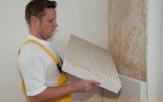 Утепление стен дома изнутри пенопластом
