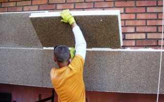 Хронология выполнения работ при утеплении фасада кирпичного дома