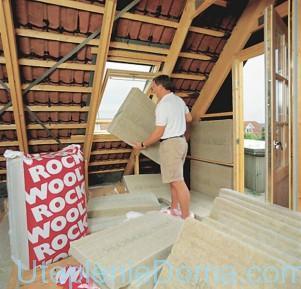 Утепление скатной крыши подготовка