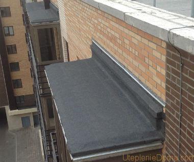 Гидроизоляция крыши балкона своими руками