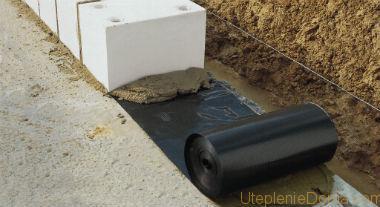 виды гидроизоляционных материалов для фундаментов
