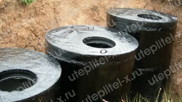 Гидроизоляция колодца канализации