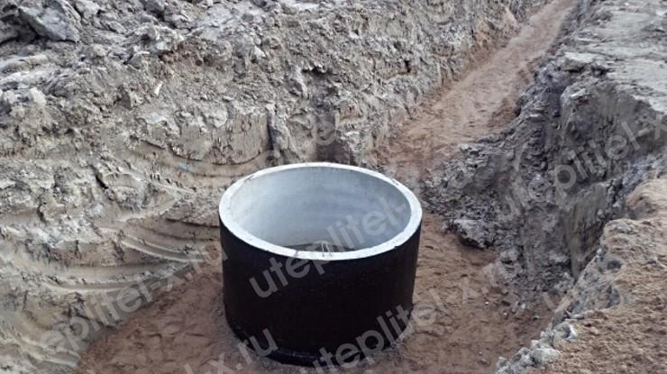 Гидроизоляция колодца канализации снаружи