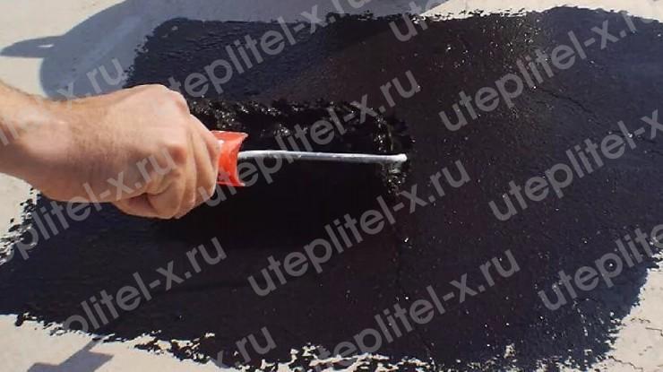 Гидроизоляция бетонной крыши мастикой