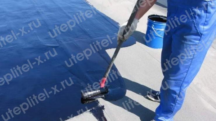 Гидроизоляция бетонного гаража жидкой резиной