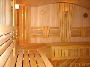 Как утеплить баню изнутри