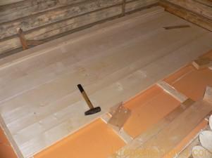 Как утеплить деревянный пол пенопластом