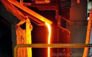 Производство каменной ваты начинается с добычи базальта