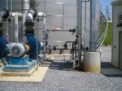 пример промышленной системы канализации