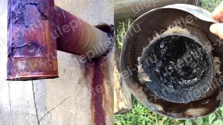 Последствия появления конденсата в трубе дымохода