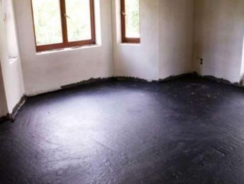 Мастика на полу