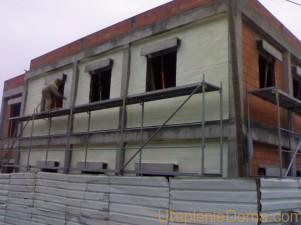 Наружное утепление стен дома