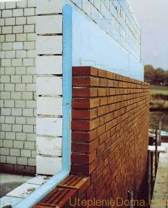 Толщина пенополистирола для утепления стен