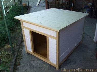 Утепленная будка для собаки своими руками