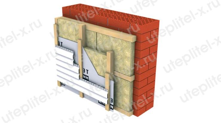Как утеплить фасад минватой под сайдинг