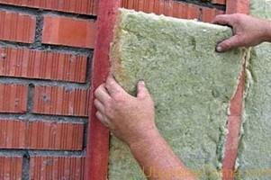 Утепление наружных стен минеральной ватой