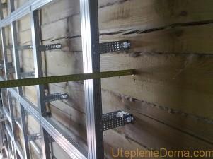 утепление стен деревянного дома снаружи пенопластом