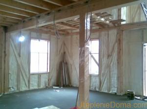 Утепление стен изнутри деревянного дома своими руками