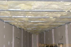 Утепление стен изнутри пенополистиролом