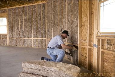 утепление стены изнутри минеральной ватой