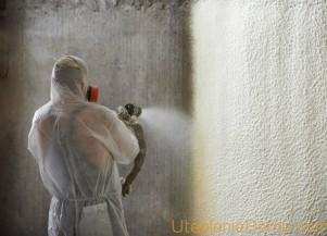 Утепление стен пенополиуретаном своими руками