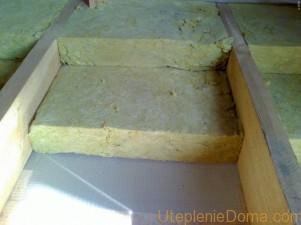 Утеплить бетонный пол минеральной ватой