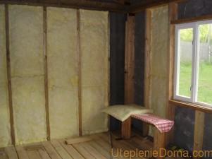 Утеплить дачный дом изнутри
