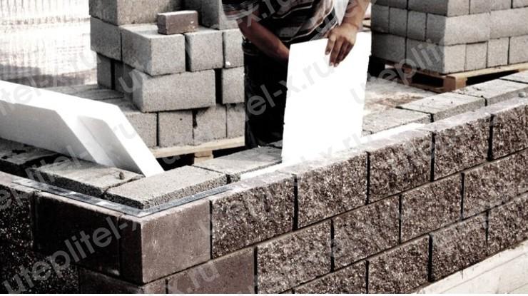 Как утеплить дом из керамзитобетонных блоков пенопластом