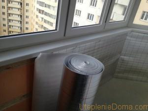 Утепление стен вспененным полиэтиленом