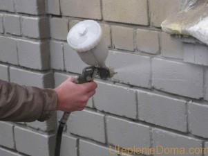 Внутреннее утеплении стен с помощью жидкой теплоизоляции